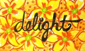 My 35 Words: Delight