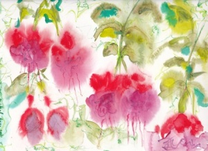 Sketch Diaries: Fuschia1
