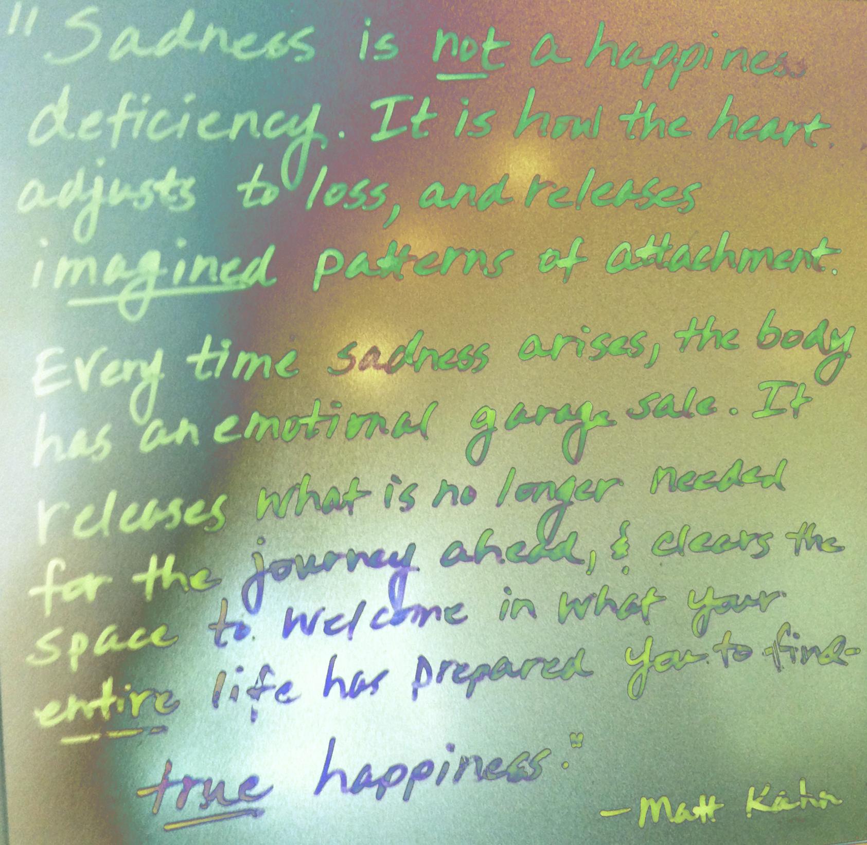 Matt Kahn Quotes | Truehappiness Mattkahnquote Rachel S Workshop