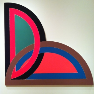 Frank Stella: Sabra 1, 1967. Seattle Art Museum: Acrylic on shaped canvas, American, born 1936, promised gift of the Virginia and Bagley Wright Collection, in honor of the 75th Anniversary of SAM